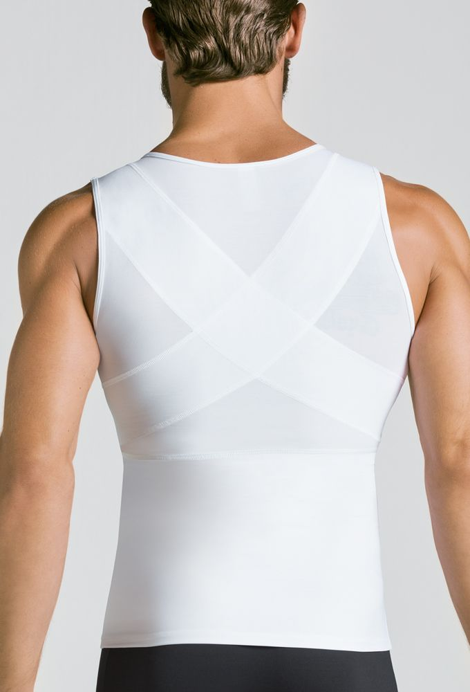Chaleco reductor fit blanco underhunks for Calzoncillos con relleno
